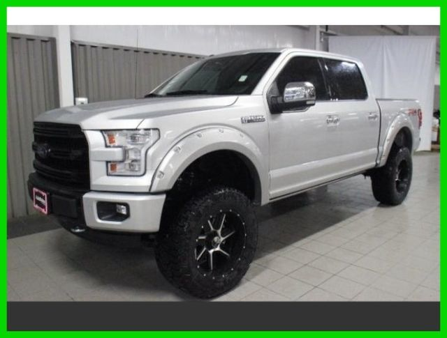2016 ford f 150 platinum 4x4 5l v8 autonation 6 inch lift 20 inch wheels. Black Bedroom Furniture Sets. Home Design Ideas