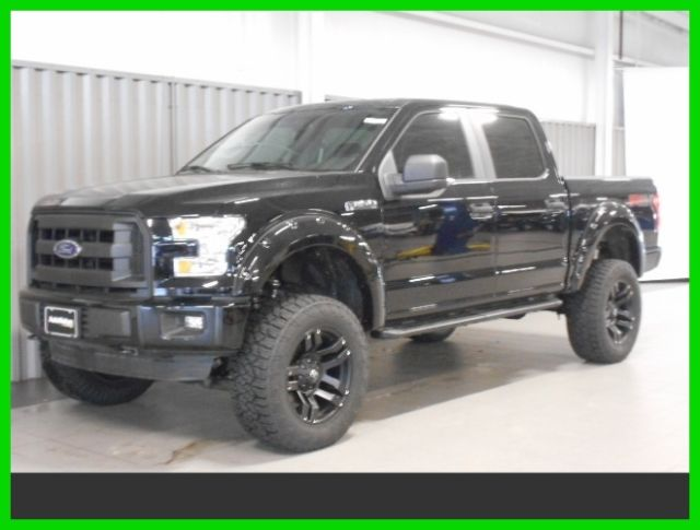 2016 ford f 150 xl 4x4 6 inch lift 20 inch wheels leather. Black Bedroom Furniture Sets. Home Design Ideas