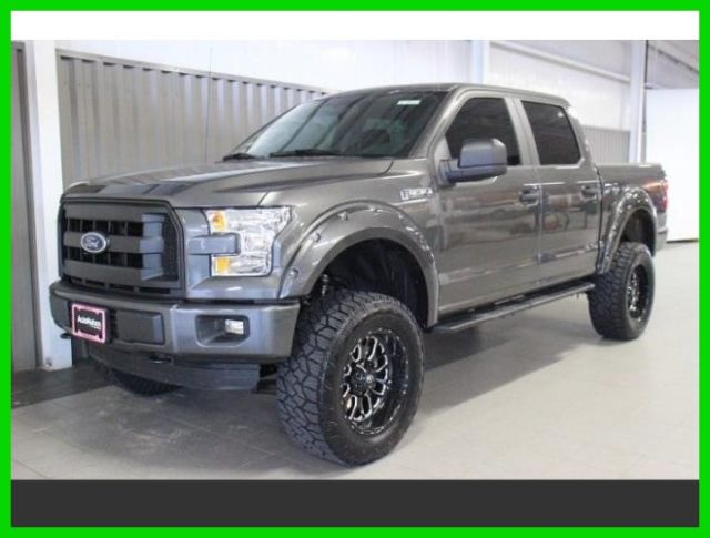 2016 ford f 150 xl 4x4 autonation 6 inch lift 20 wheels custom leather seating. Black Bedroom Furniture Sets. Home Design Ideas