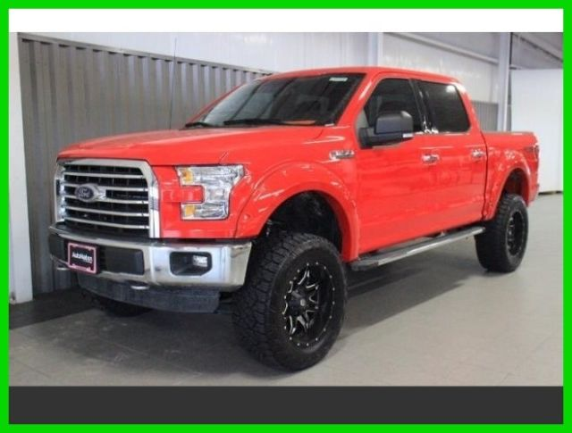2016 ford f 150 xlt 4x4 6 inch lift 20 inch wheels custom leather. Black Bedroom Furniture Sets. Home Design Ideas