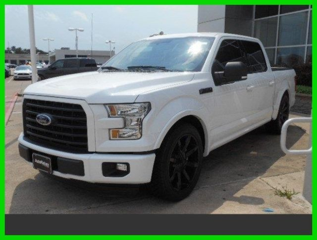 2016 Ford F 150 Xlt Autonation Ford 4 2 Inch Lowered 22 Inch Rims Side Exhaust