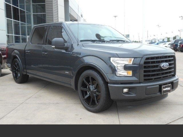 2016 ford f 150 xlt autonation ford lowered 4 inch 2 inch 22 inch wheels. Black Bedroom Furniture Sets. Home Design Ideas