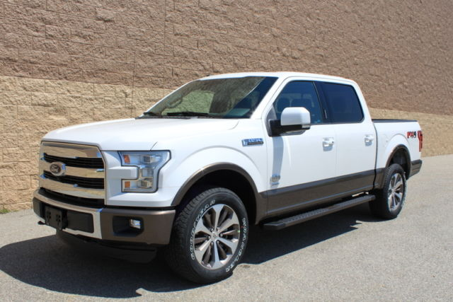 2016 ford f150 crew cab 3 5l ecoboost 4x4 king ranch lariat. Black Bedroom Furniture Sets. Home Design Ideas