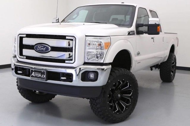 2016 ford f250 king ranch custom 4x4 diesel lift kit fox white platinum. Black Bedroom Furniture Sets. Home Design Ideas