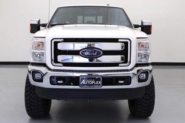 2016 ford f250 king ranch custom 4x4 diesel lift kit fox white platinum. Black Bedroom Furniture Sets. Home Design Ideas