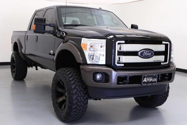 2016 ford f250 king ranch diesel 6in lift kit full. Black Bedroom Furniture Sets. Home Design Ideas