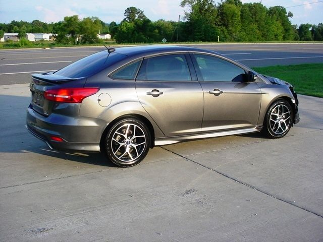 2016 ford focus se sport no reserve salvage damaged rebuildable repairable. Black Bedroom Furniture Sets. Home Design Ideas