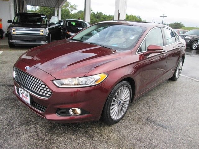 2016 ford fusion titanium 36097 miles bronze fire metallic. Black Bedroom Furniture Sets. Home Design Ideas