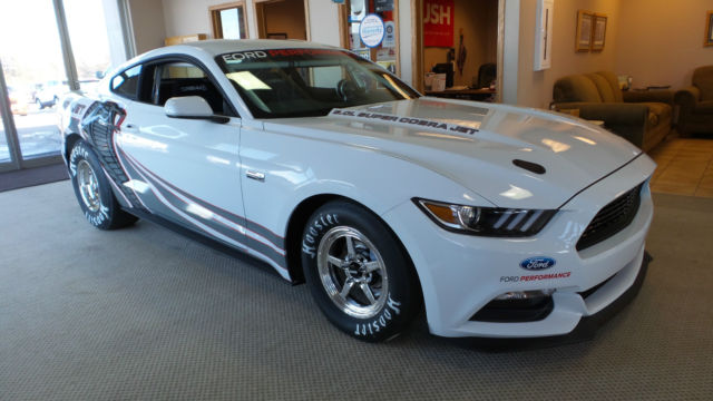 Mustang Cobra Jet >> 2016 Ford Mustang Cobra Jet White V8 Supercharged #4 of 50 made (1of25 in white)