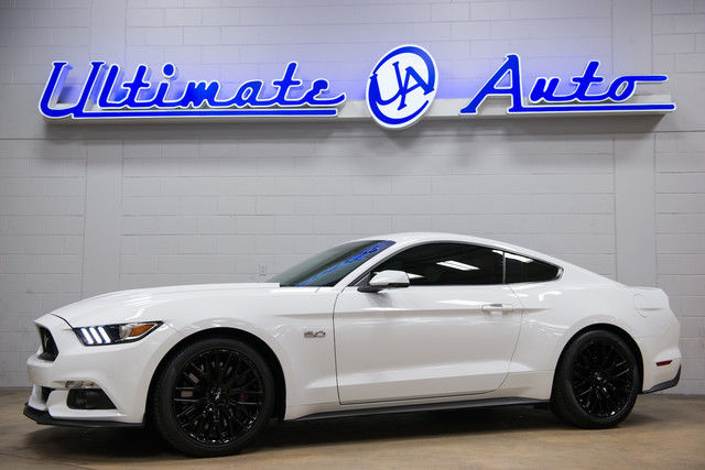 2016 Ford Mustang Gt Premium Oxford White W Recaro Seats Borla Exhaust System