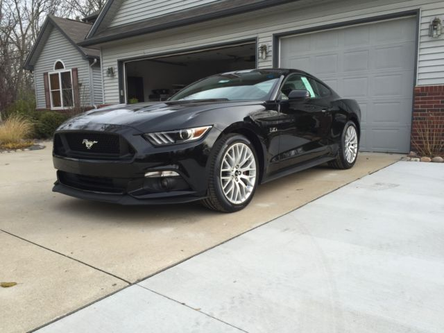 2016 Ford Mustang Gt Premium Performance Package 5 0l V8 Coupe Manual Nav