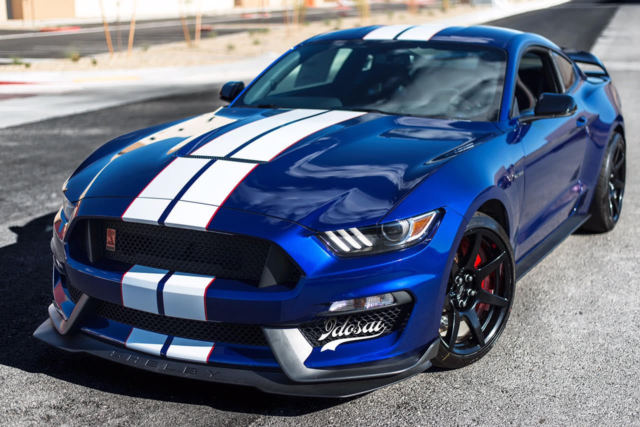 2016 ford mustang shelby gt350r deep impact blue electronics pack gt350 r new. Black Bedroom Furniture Sets. Home Design Ideas