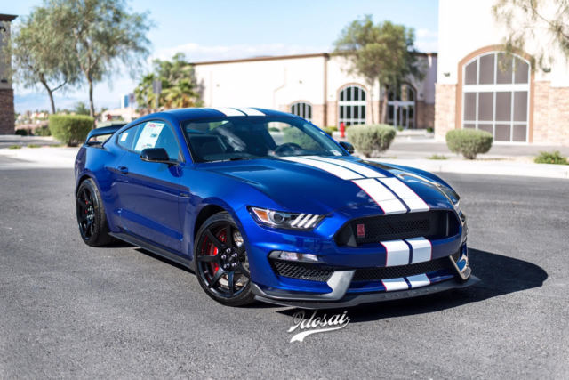Ford Shelby Gt350r Interior >> 2016 Ford Mustang Shelby GT350R DEEP IMPACT BLUE ELECTRONICS PACK GT350 R NEW