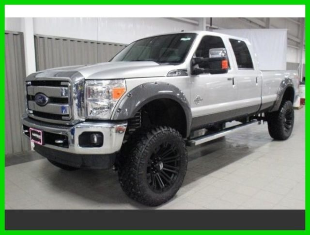 2016 Ford Super Duty F-350 4x4 Lariat Diesel Autonation 6 inch lift 22 inch