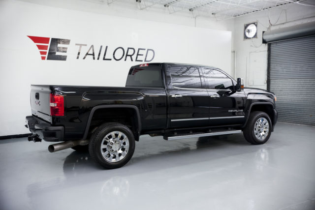 2016 gmc sierra 2500 hd denali only 3000 miles 6 6 duramax diesel. Black Bedroom Furniture Sets. Home Design Ideas