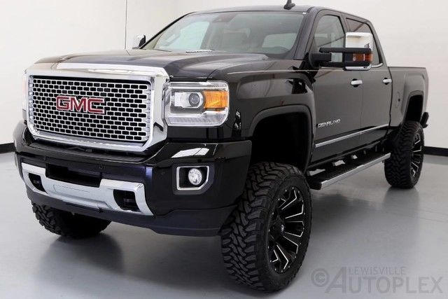gmc denali sierra lift 2500hd kit 4x4 fox shocks diesel custom lifted 2500