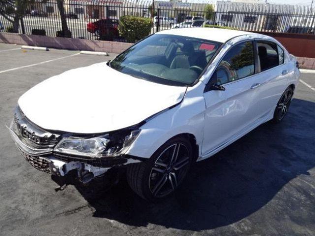 2016 Honda Accord Sport Sedan W Sensing Cvt Salvage Rebuilder Must See