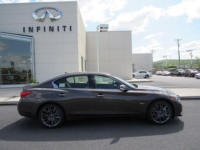 2016 Infiniti Q50 3.0 T Premium >> 2016 Infiniti Q50 3.0t Red Sport 0 Chestnut Bronze 4dr Car Twin Turbo Premium Un