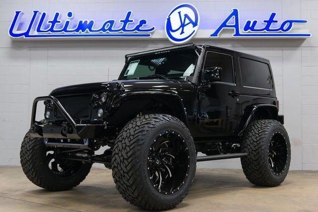 2016 Jeep Wrangler Custom Gloss Black Trim Nappa Leather