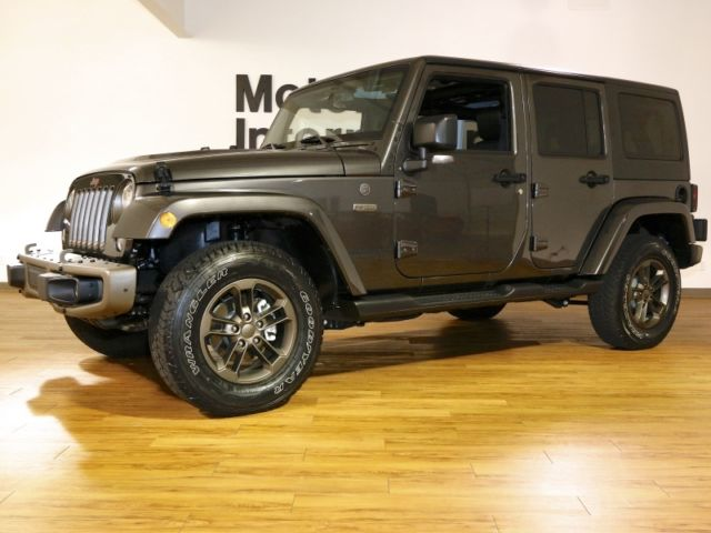 2016 jeep wrangler unlimited 4x4 75th anniversary edition loaded with options. Black Bedroom Furniture Sets. Home Design Ideas