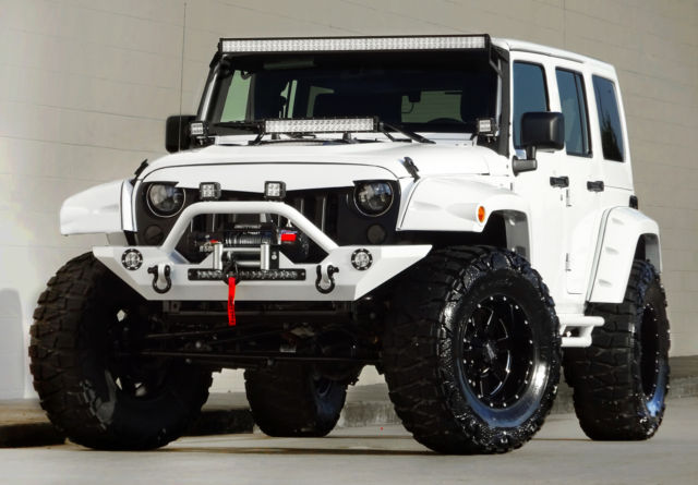 2016 Jeep Wrangler Unlimited Custom Bentley Diamond