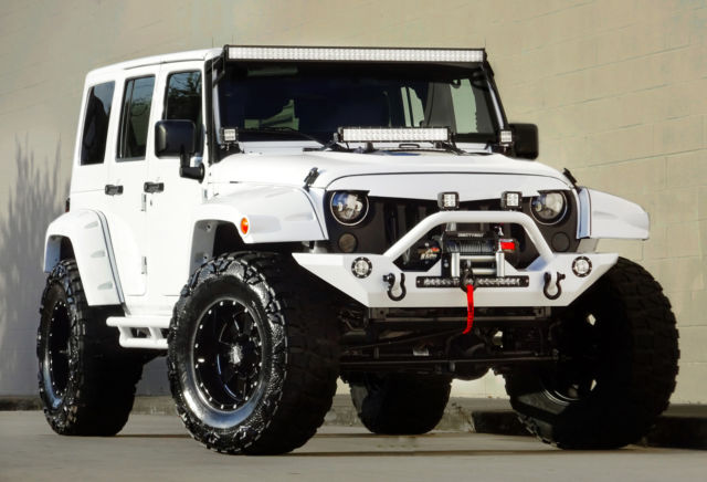2016 Jeep Wrangler Unlimited, Custom Bentley Diamond ...