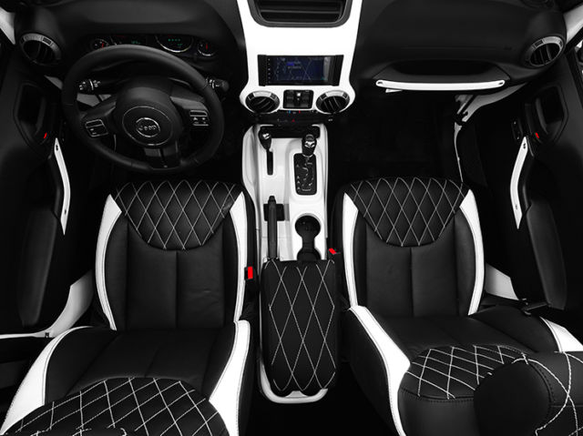 2016 jeep wrangler unlimited nav leather custom white interior. Black Bedroom Furniture Sets. Home Design Ideas