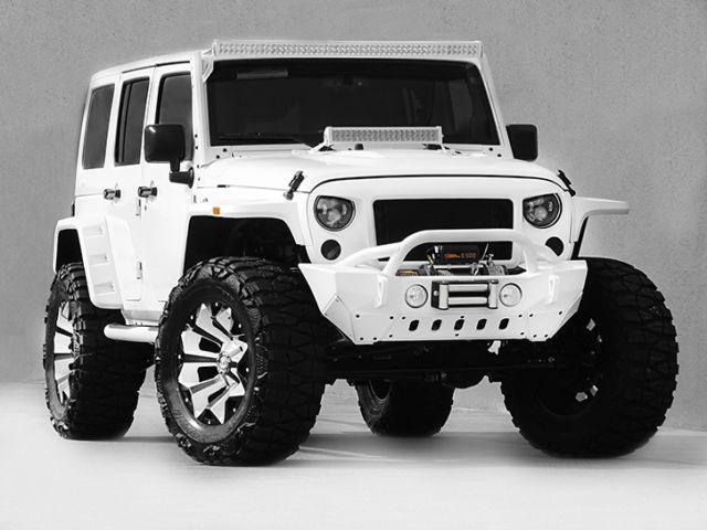 2016 Jeep Wrangler Unlimited Nav Leather Custom White