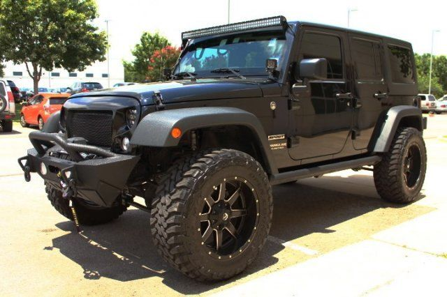"Jeep Dealership Austin >> 2016 Jeep Wrangler Unlimted Sport S 4WD 4"" Lift, 35"" Tires, 20"" Wheels"