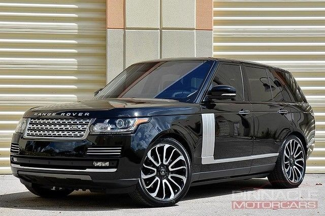 2016 Land Rover Range Autobiography 4 Place Seating 1 9 Apr Avail