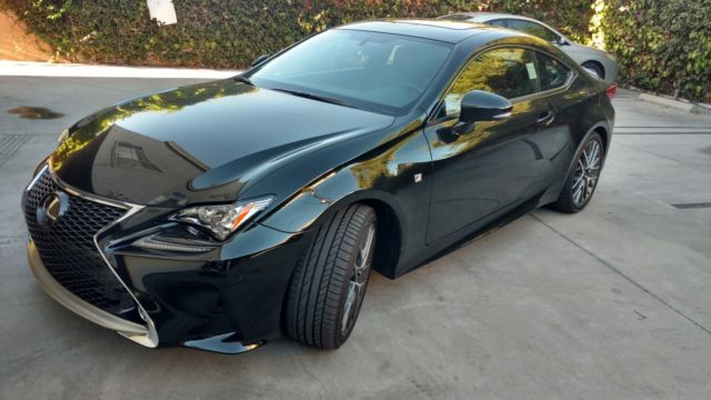 Ls 460 For Sale >> 2016 LEXUS RC 350 F SPORT BLACK WITH RED INTERIOR MARK ...