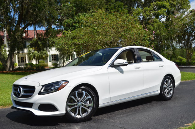 2016 Mercedes Benz C Class C300 Rwd W Garmin Map Pilot