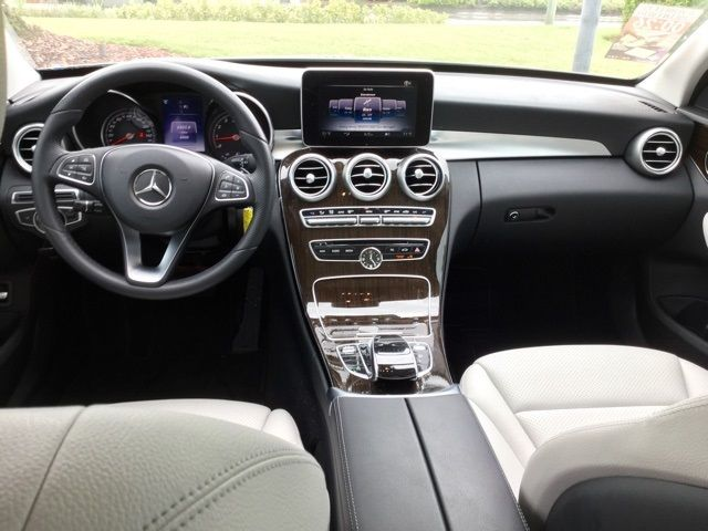 2016 Mercedes Benz C Class Palladium Silver Metallic With