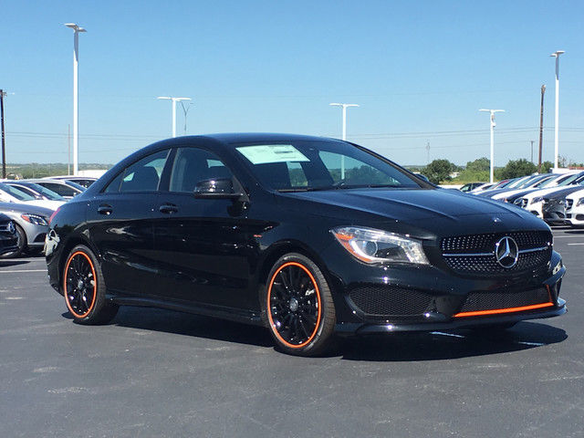 2016 Mercedes Benz Cla250 Orange Edition