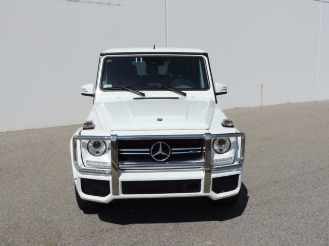 2016 mercedes benz g class g 63 4matic amg g63 white red for Mercedes benz ontario phone number