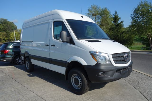 2016 mercedes benz sprinter 2500 m2ca144 4x4 high roof for 2015 mercedes benz 2500 high roof
