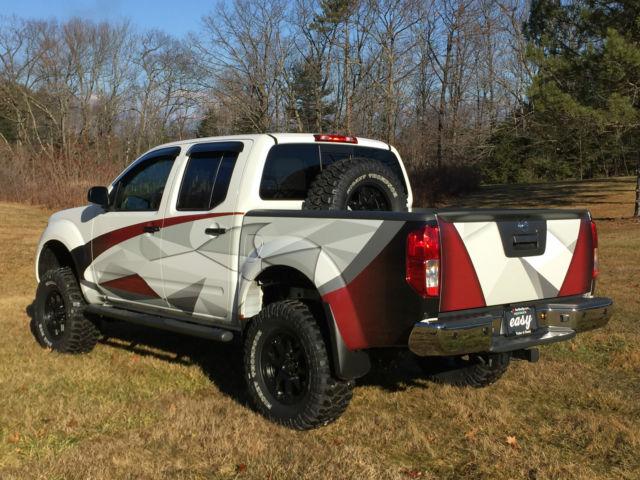 Nissan Frontier Bed Size >> 2016 Nissan Frontier Crew Cab 4x4 - Custom Built Off-Road Truck