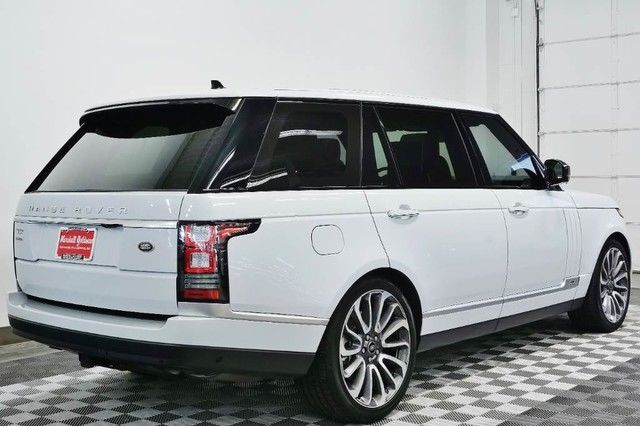 2016 Range Rover Autobiography Lwb Yulong White Over