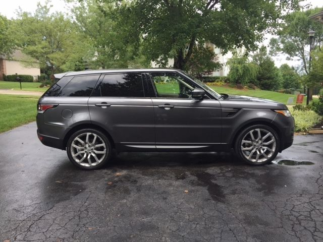 2016 range rover sport se rare 3rd row seating 22 wheels. Black Bedroom Furniture Sets. Home Design Ideas