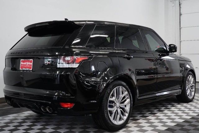 2016 range rover sport svr in santorini black 665 miles limited edition. Black Bedroom Furniture Sets. Home Design Ideas