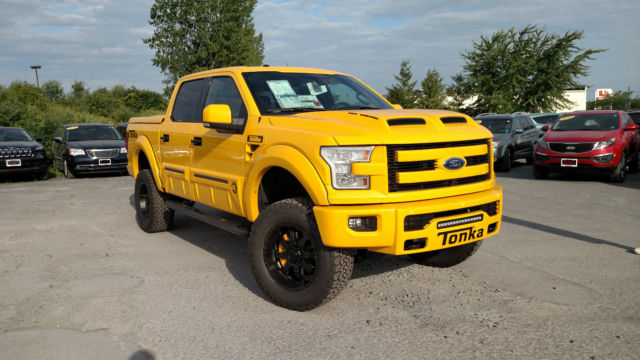 Ford F 150 Tonka 2016 SHELBY SUPERCHARGED TONKA EDITION TUSCANY FORD F-150