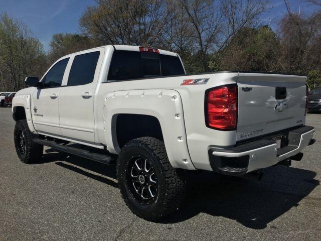 "New Smyrna Chevrolet >> 2016 Silverado Z71 Crew 4wd Black Widow Pkg 6"" Lift LED Lights 20"" Wheels on 35s"
