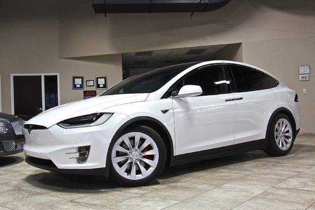 2016 tesla model x p90d 90kw dual motors premium upgrades seven seats. Black Bedroom Furniture Sets. Home Design Ideas