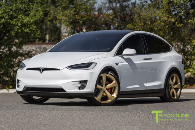 2016 tesla model x signature p90d ludicrous pearl white. Black Bedroom Furniture Sets. Home Design Ideas