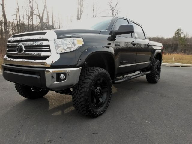 2016 toyota tundra tss offroad lifted custom leather. Black Bedroom Furniture Sets. Home Design Ideas