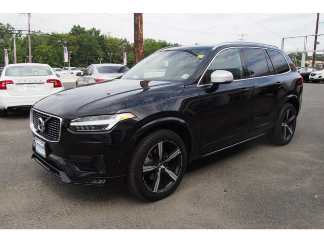 Cars With Third Row Seating >> 2016 Volvo XC90 T6 R-Design 9840 Miles Black SUV AWD 4 Cylinder Geartronic