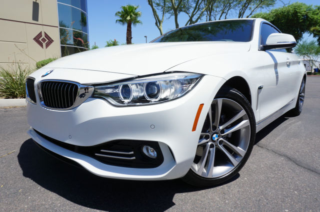 2016 White BMW 428 4 Series GranCoupe Sedan Like 2013 2014 2015 435i 335i AZ Car