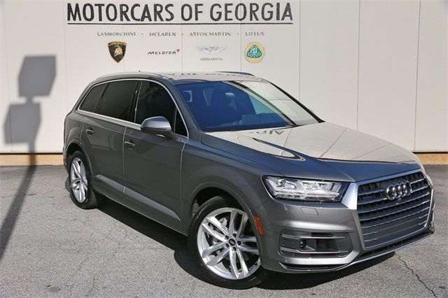2017 audi q7 3 0t prestige 1052 miles graphite gray. Black Bedroom Furniture Sets. Home Design Ideas