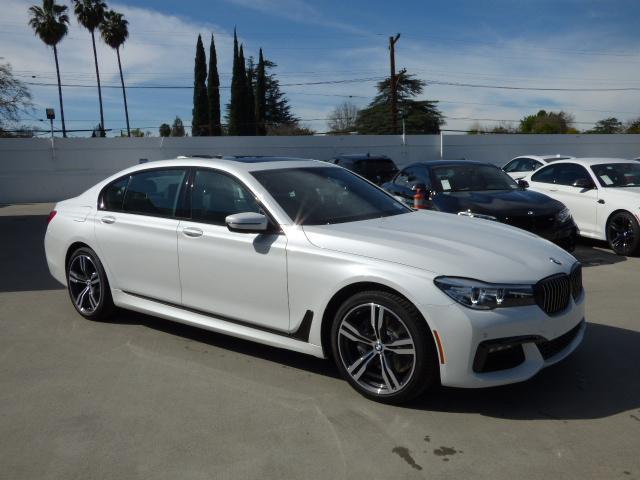 2017 BMW 7 Series 740i 48 Miles 0A96 Mineral White Metallic 4dr Car 30L I6 Auto
