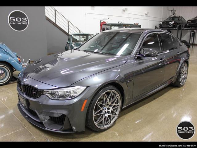 2017 Bmw M3 Loaded Compeion Package W 87k Msrp Automatic 4 Door Sedan